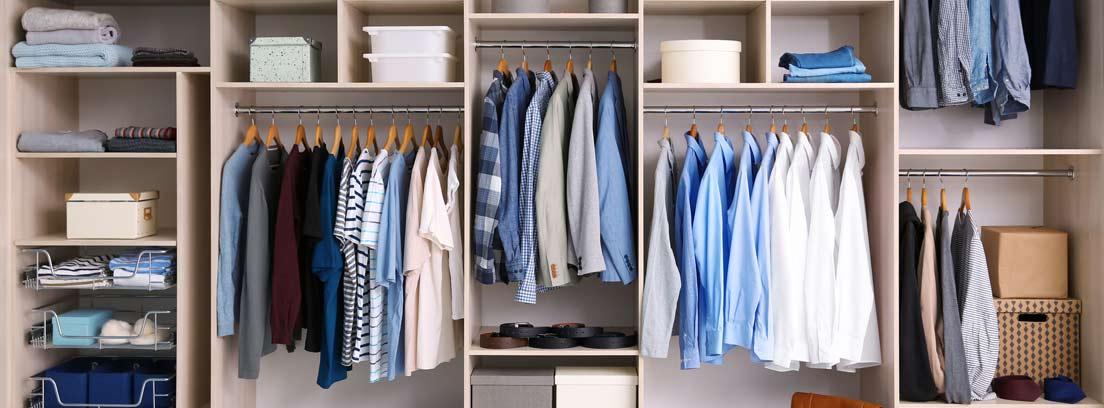 C mo hacer un vestidor en cualquier habitaci n canalhogar - Como hacer un closet en una habitacion ...