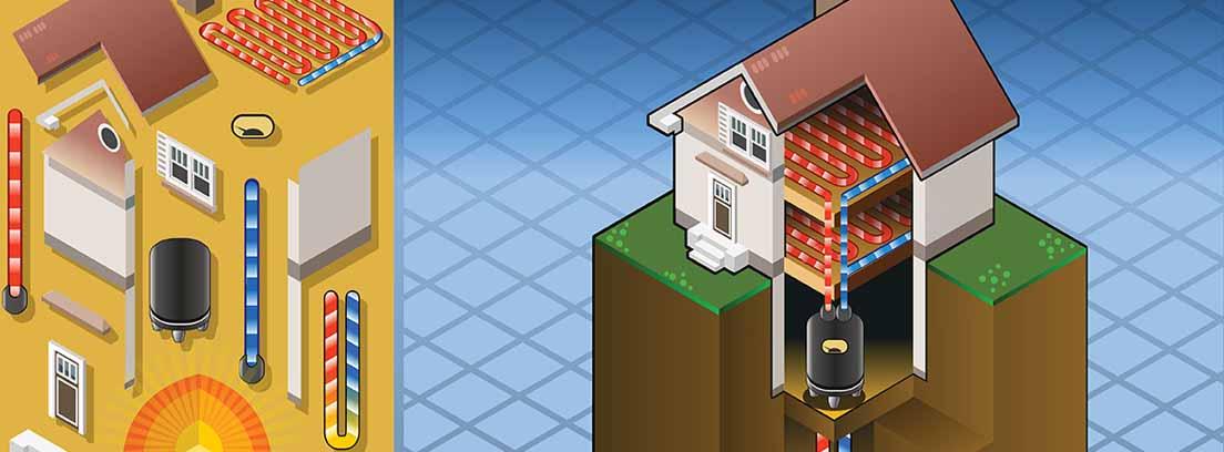 energía geotermica en casa