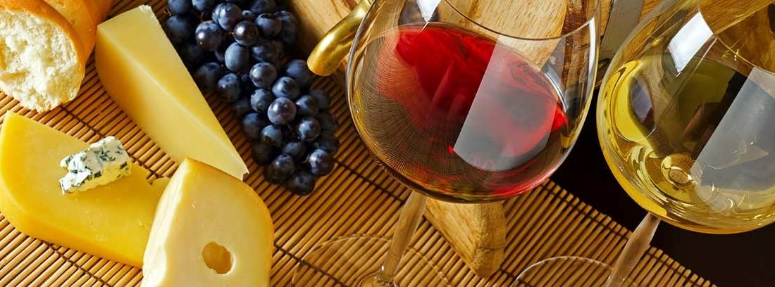 Maridaje de vinos según el tipo de vino