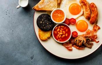 Desayuno inglés tradicional