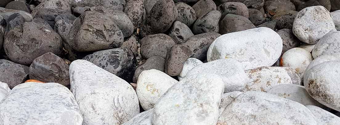 Distintos tipos de piedra decorativa