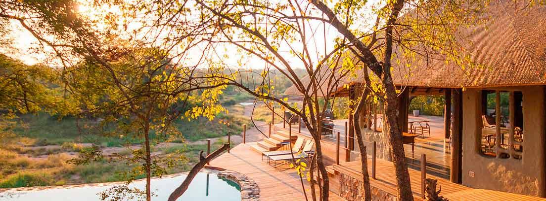 Hotel sostenible Garonga Safari Camp