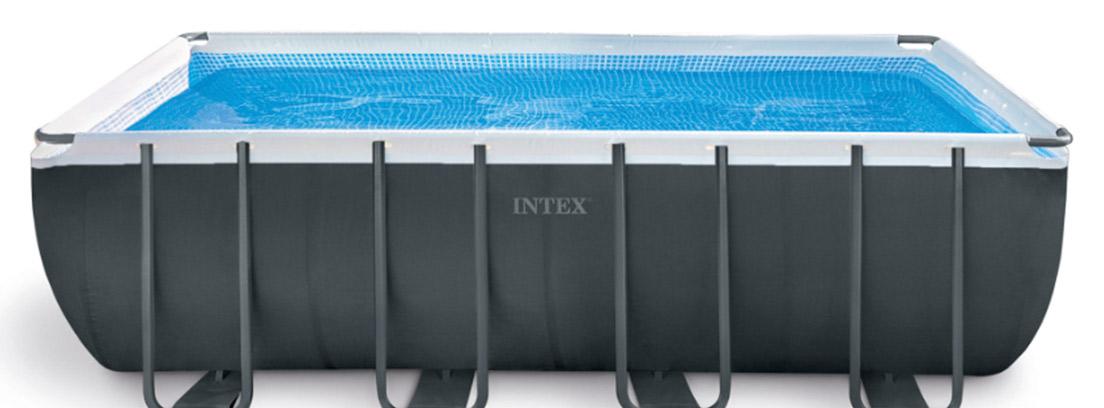 Piscina desmontable tubular con estructura de acero Intex Ultra XTR Frame