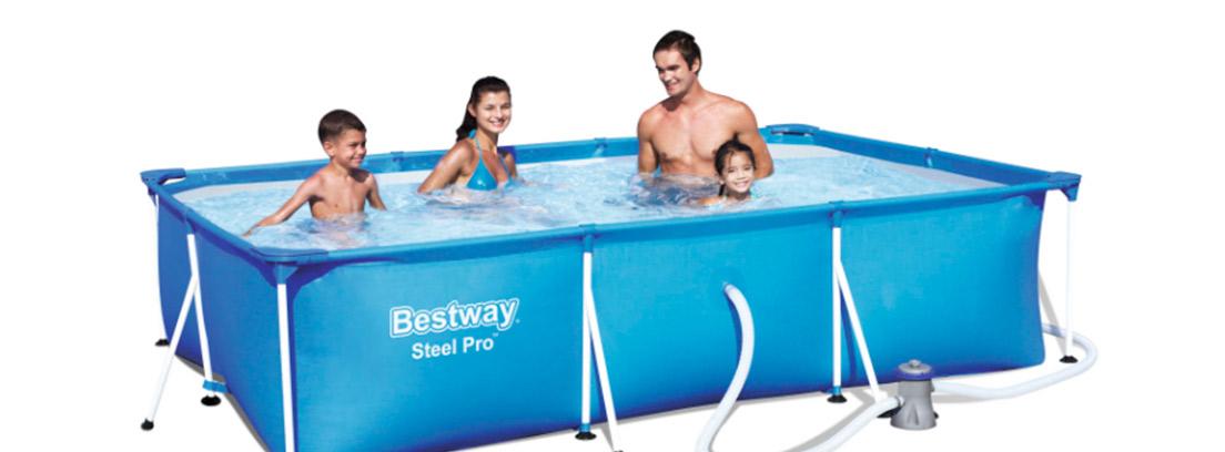 Piscina desmontable Bestway Steel Pro Splash