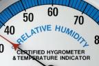 Higrómetro analógico