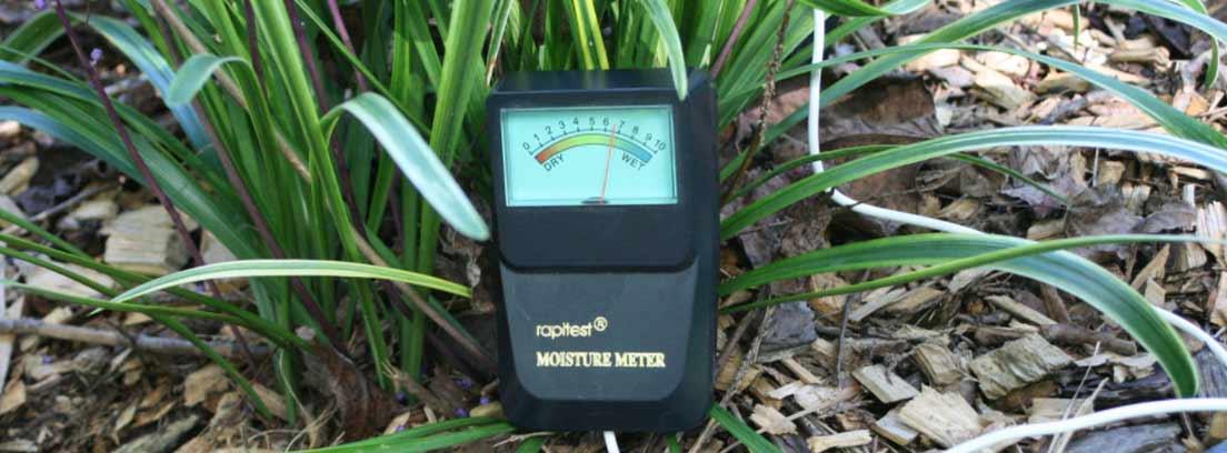 Medidor de humedad del suelo