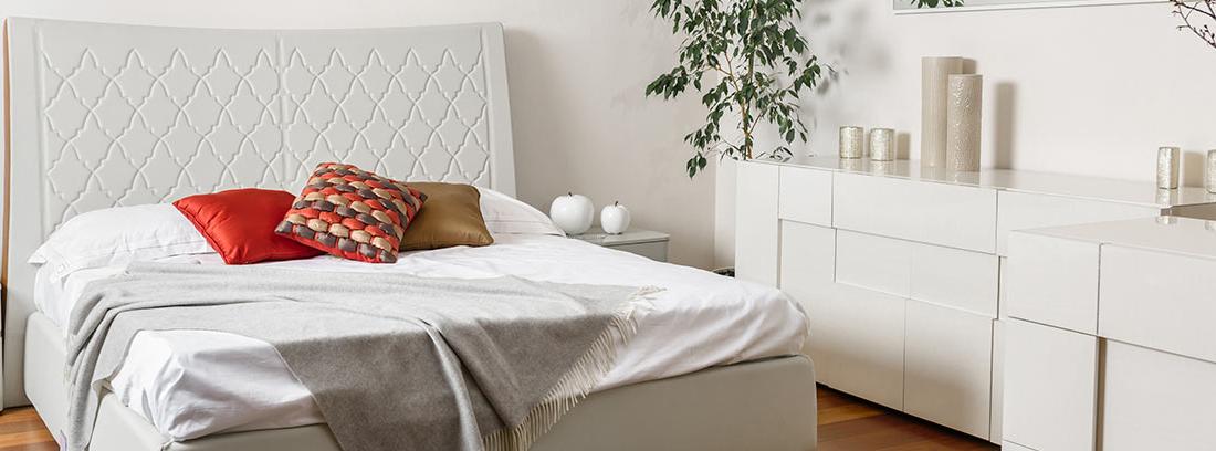 espacio en el dormitorio pequeño