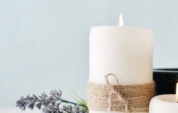 velas aromáticas caseras