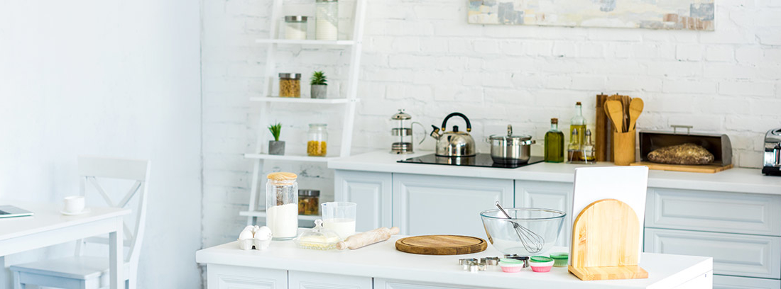 cómo elegir muebles auxiliares de cocina