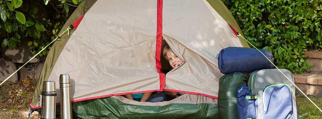 organizar una acampada