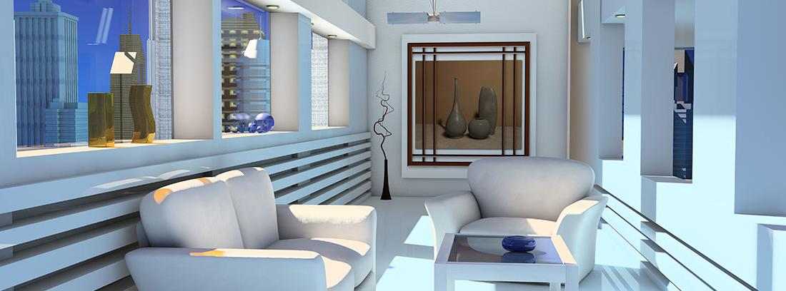 Cómo decorar un salón alargado y estrecho