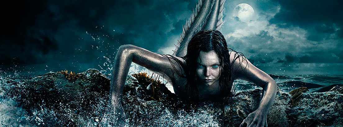 Ryn, protagonista de Siren, es una escena de la serie