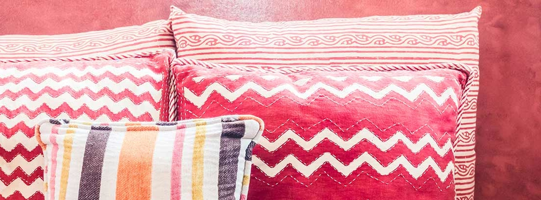 Cojines y sofás marroquíes
