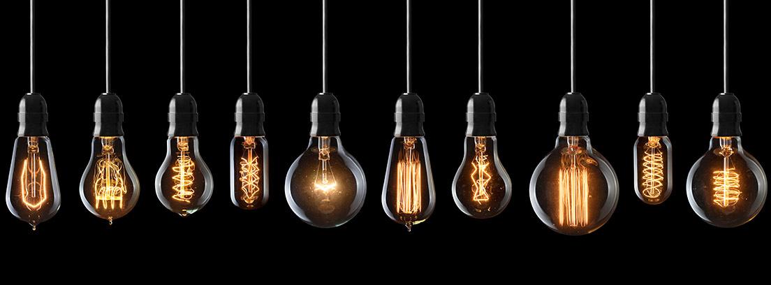 Bombillas vintage: iluminación relajante y natural