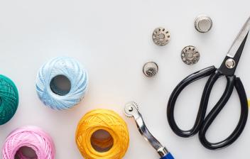 Elementos para arreglar una cremallera