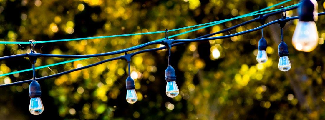 Guirnalda de luces solares