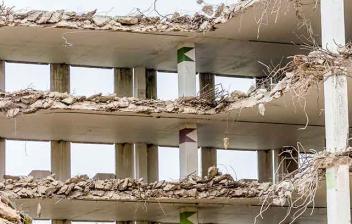 demolición de un edificio