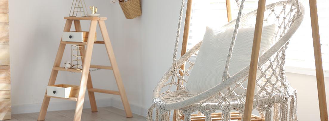Hacer una silla colgante de macramé paso a paso