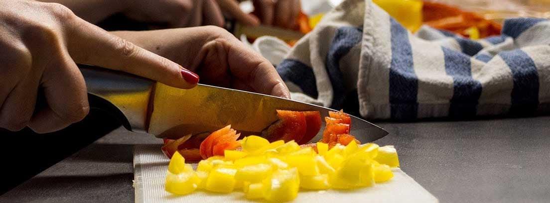 Descubre las diferentes formas de cortar la verdura