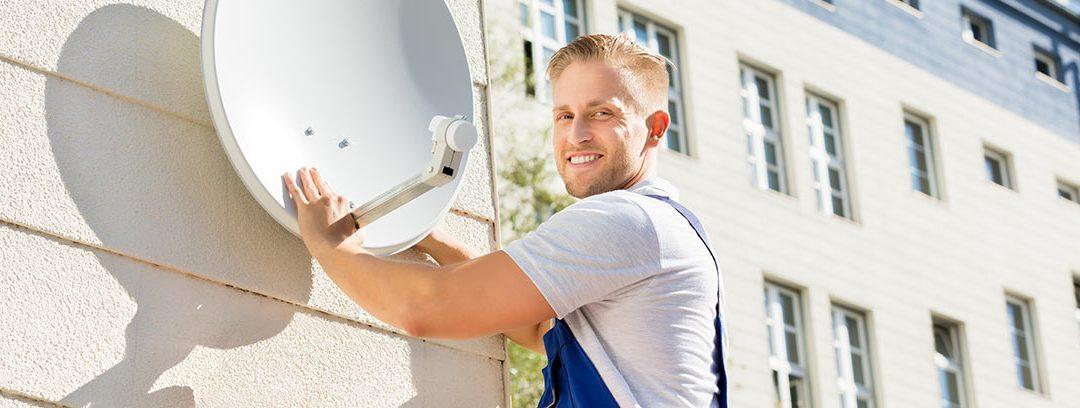 Instalación de una antena parabólica en tu vivienda