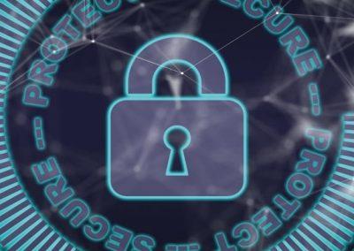 Candado ciberseguridad