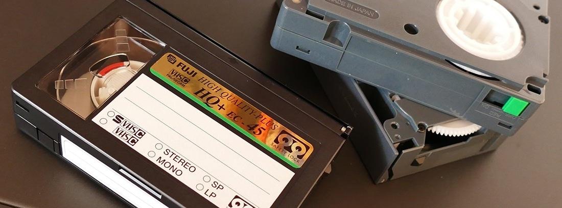 Pasar VHS familiares a DVD