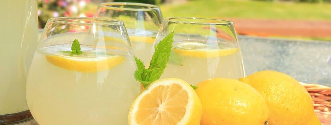 Receta: Limonada casera