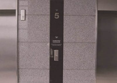 Puertas de ascensores