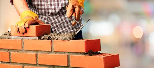 hacer muro ladrillos