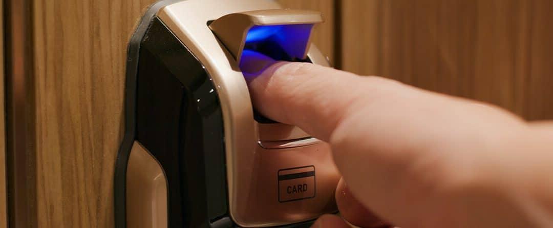 Cerraduras inteligentes de huella dactilar