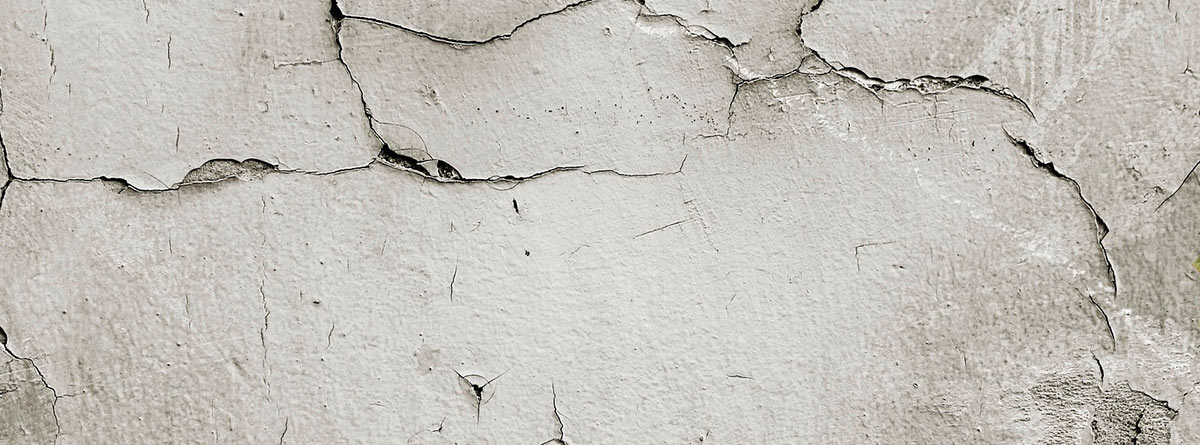 Textura de una pared agrietada