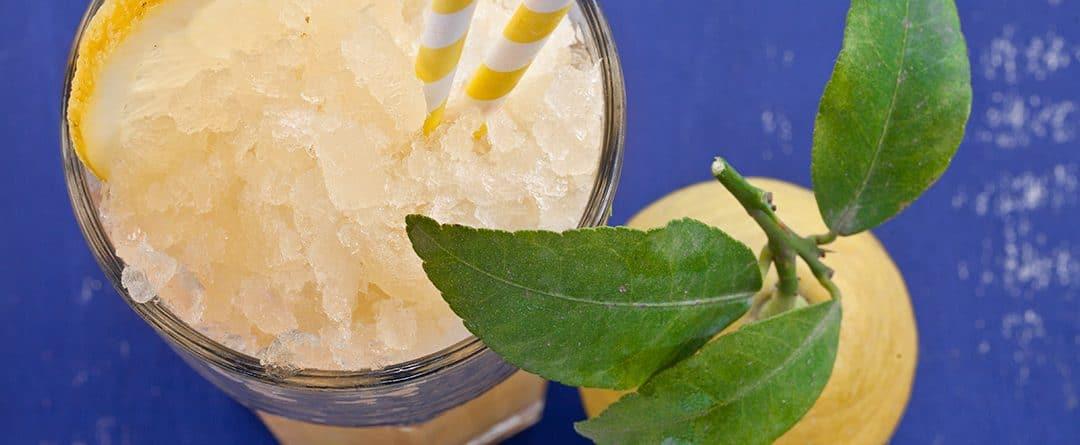 Receta: Sorbete de limón