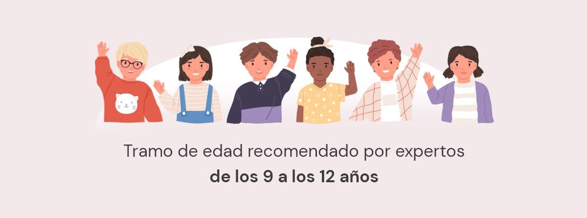 Infografía, edad recomendada para dejar solo a un niño