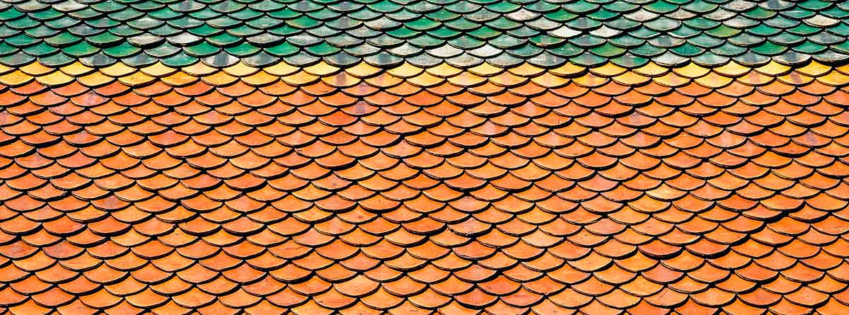 Tejas de colores