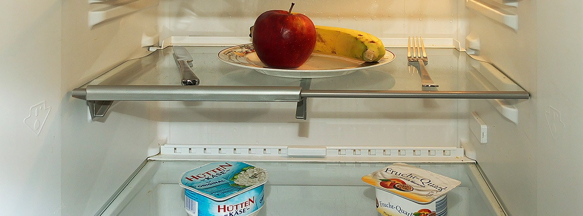 Interior de un frigorífico